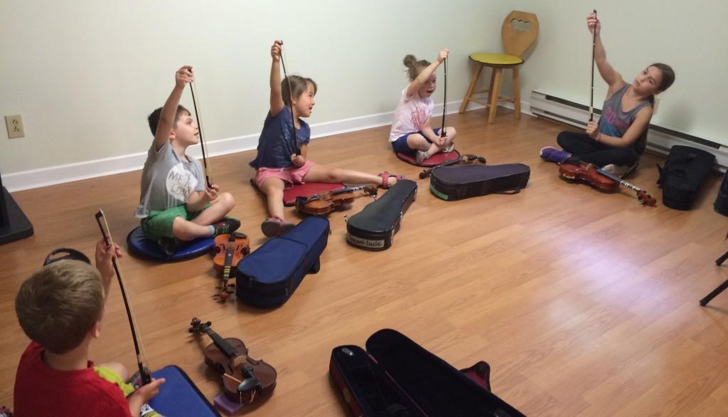 Initiation au violon - Académie de musique Archets & Compagnie
