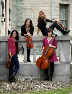 Quatuor Rhapsodie - Académie de musique Archets & Compagnie